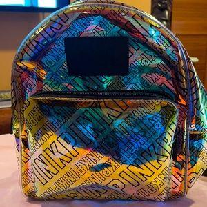 🎒 VS PINK Mini Glossy Backpack 🎒